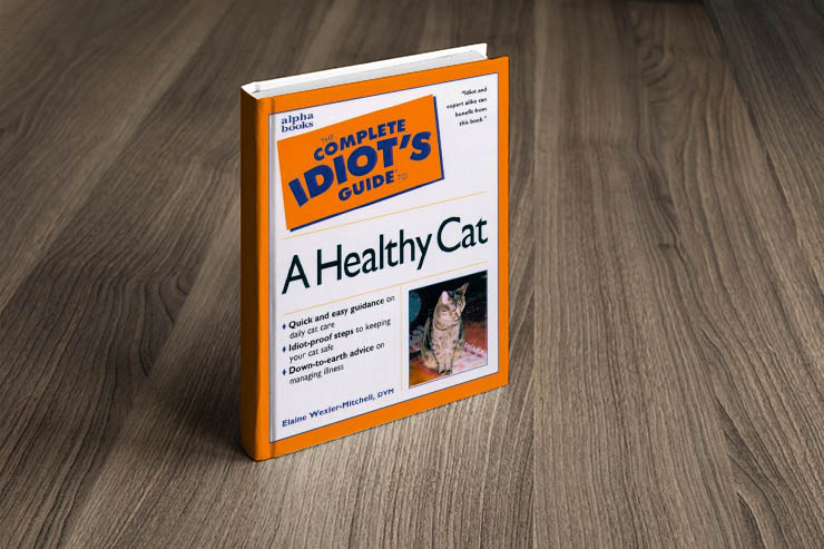 The Complete Idiots Guide To A Healthy Cat Book Photo